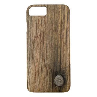 Funda Para iPhone 8/7 Falsa madera resistida del granero