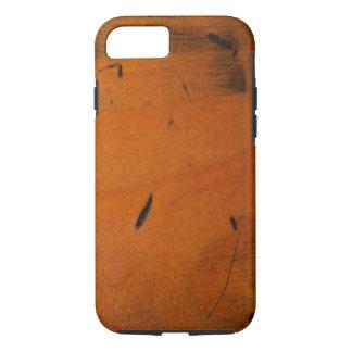 Funda Para iPhone 8/7 Falso duro de madera masculino báltico fresco de