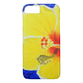 Funda Para iPhone 8/7 Flor amarilla del hibisco