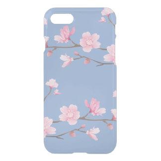 Funda Para iPhone 8/7 Flor de cerezo - azul de la serenidad