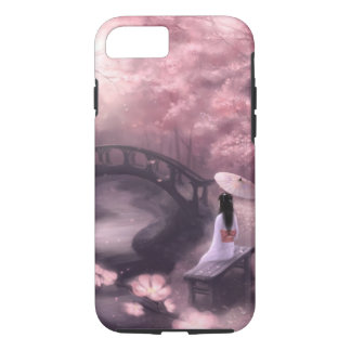 Funda Para iPhone 8/7 Flor de cerezo japonesa