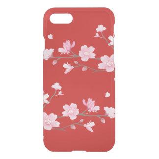Funda Para iPhone 8/7 Flor de cerezo - rojo