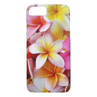 Funda Para iPhone 8/7 Flor mezclada blanca amarilla rosada del Plumeria