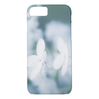Funda Para iPhone 8/7 Flores blancos hermosos