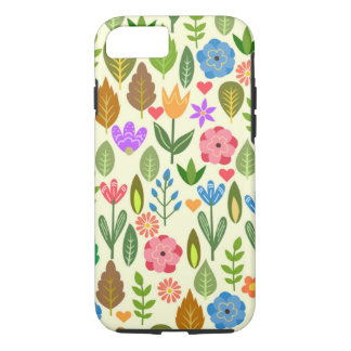 Funda Para iPhone 8/7 Flores coloridas