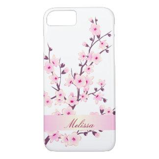 Funda Para iPhone 8/7 Flores de cerezo lindas