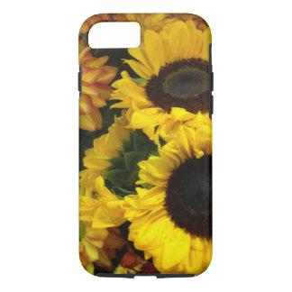 Funda Para iPhone 8/7 Flores de la caída del girasol