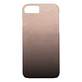 Funda Para iPhone 8/7 Fondo color de rosa de Ombre del negro del efecto