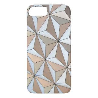 Funda Para iPhone 8/7 Fondo geométrico de Pentakis Dodecahedron