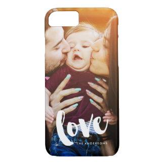 "Funda Para iPhone 8/7 Foto de la capa del ""amor"""