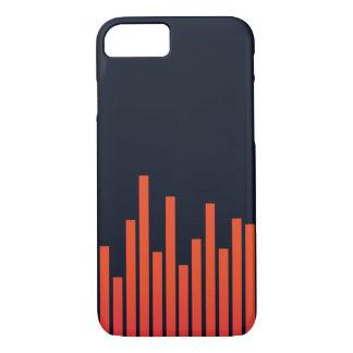 Funda Para iPhone 8/7 Frecuencia del caso del iPhone 7 de la música