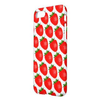 Funda Para iPhone 8/7 Fresas rojas deliciosas IPhone 8/7 cubierta de la