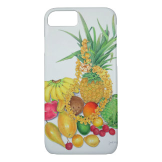 Funda Para iPhone 8/7 Fruta tropical y leus