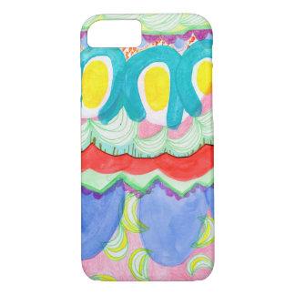 Funda Para iPhone 8/7 Frutas abstractas coloridas del misterio