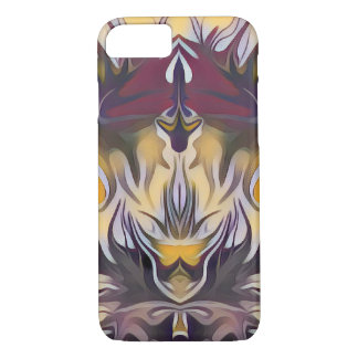 Funda Para iPhone 8/7 Fuego amarillo abstracto