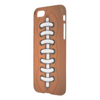 Funda Para iPhone 8/7 Fútbol americano anaranjado de Brown de los