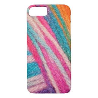 Funda Para iPhone 8/7 ganchillo coloreado de los hilos