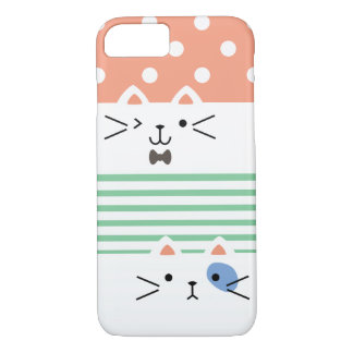 Funda Para iPhone 8/7 Gatito doble
