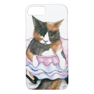 Funda Para iPhone 8/7 Gato en una caja del teléfono del tutú