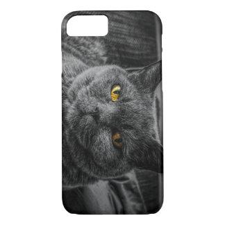 Funda Para iPhone 8/7 Gato negro