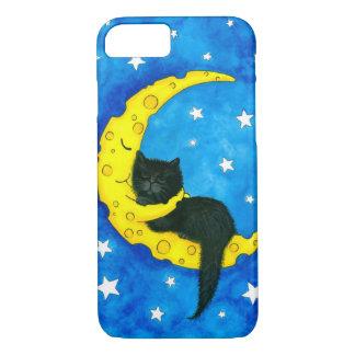 Funda Para iPhone 8/7 Gato negro de los sueños dulces por Bihrle