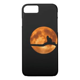Funda Para iPhone 8/7 Gato Phonecase de la luna