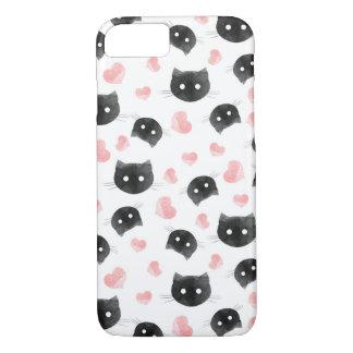 Funda Para iPhone 8/7 Gatos del amor