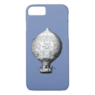 Funda Para iPhone 8/7 Globo del aire caliente del vintage de Montgolfier