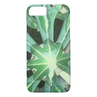 Funda Para iPhone 8/7 Gotas de agua en las hojas