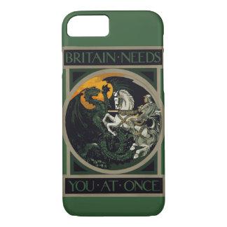 Funda Para iPhone 8/7 Gran Bretaña necesita le inmediatamente Knight y