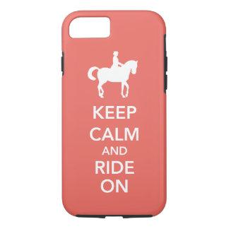 Funda Para iPhone 8/7 Guarde la calma y monte en personalizado del