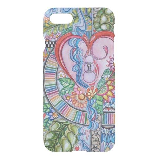 Funda Para iPhone 8/7 Guarde su iPhone 7, 6/s, del corazón caso 5/s