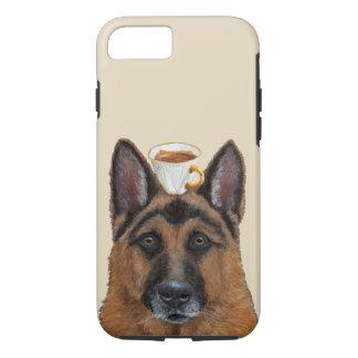 Funda Para iPhone 8/7 Guardia del iPhone 7, caso duro de Apple del café