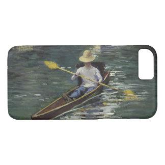 Funda Para iPhone 8/7 Gustave Caillebotte - canoa en el Yerres