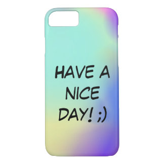 Funda Para iPhone 8/7 Have a nice day iphone 7 case