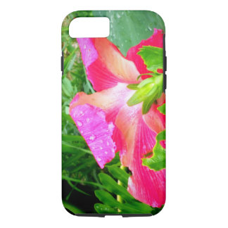 Funda Para iPhone 8/7 Hibisco rosado