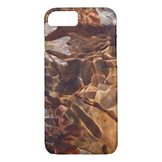 Funda Para iPhone 8/7 Hojas de otoño de la natación Photograpy abstracto