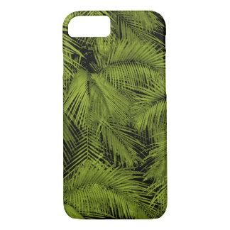 Funda Para iPhone 8/7 Hojas tropicales verdes hawaianas de las palmas de