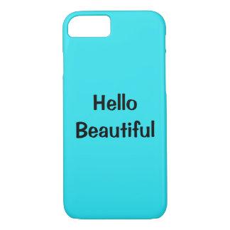 Funda Para iPhone 8/7 hola caja hermosa del teléfono