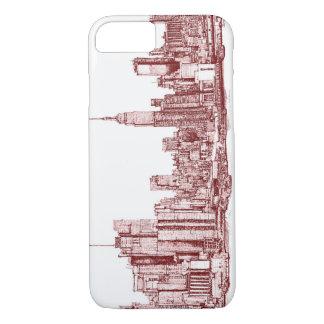 Funda Para iPhone 8/7 Horizonte de Nueva York