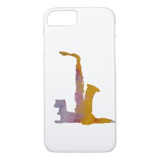 Funda Para iPhone 8/7 Hurón y saxofón