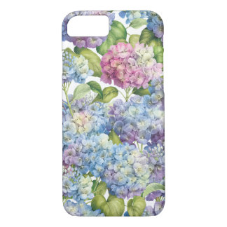 Funda Para iPhone 8/7 Hydrangeas en la floración