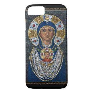 Funda Para iPhone 8/7 Icono del mosaico de la isla de Murano