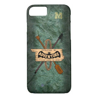 Funda Para iPhone 8/7 ICONO TERROSO de la AVENTURA por Slipperywindow