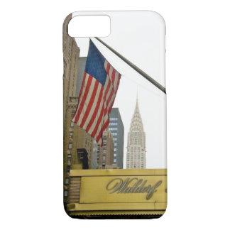 Funda Para iPhone 8/7 Iconos de Nueva York - Waldorf y construcción de