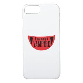 Funda Para iPhone 8/7 Im divertido realmente un vampiro Halloween Meme