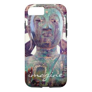 """Funda Para iPhone 8/7 """"Imagínese"""" la foto asiática de la cabeza de la"""