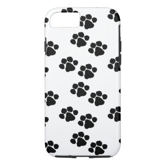 Funda Para iPhone 8/7 Impresiones de la pata para los dueños del mascota