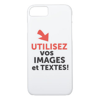 Funda Para iPhone 8/7 Imprimir sus diseños en línea DIY en Francés