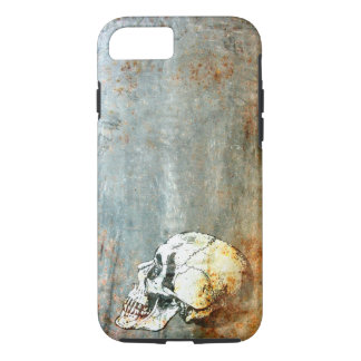 Funda Para iPhone 8/7 Industrial oxidado con un iPhone del cráneo 8/7